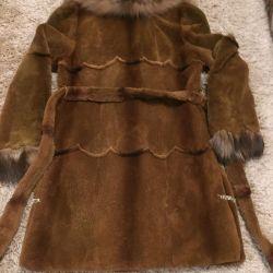Γούνινα παλτά από κάστορα και αλεπού
