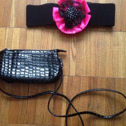 Belt and handbag new