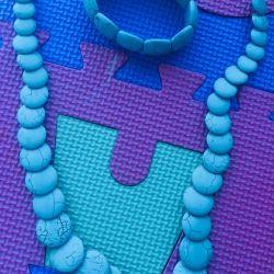 New set of turquoise stone