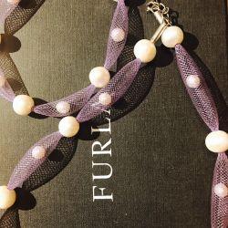 Кольє і браслет з натуральними перлами. висилаю