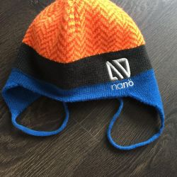 Winter hat Nano + dickey