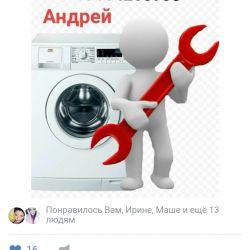 Çamaşır makineleri, bulaşık makineleri tamir ustası