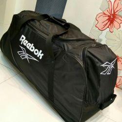 Хоккейный баул спортивная сумка Reebok. Доставка