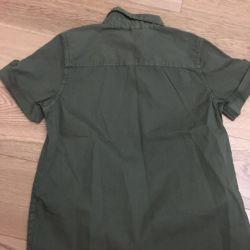 Рубашка на мальчика, лонгслив- новые