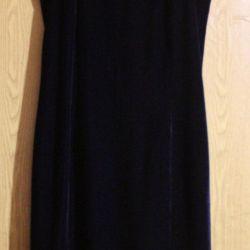 ✂️ Velvet evening dress