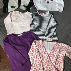 Πακέτο επώνυμων μπλούζες για 116 εκ