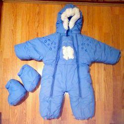 Overalls winter Finnish company on the boy