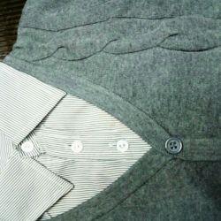 Bir gömlek ile iki hırka 7.8.9 yıl