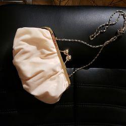 Μικρή τσάντα ροδάκινου