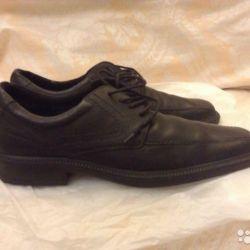 кожаные мужские туфли на 40 размер