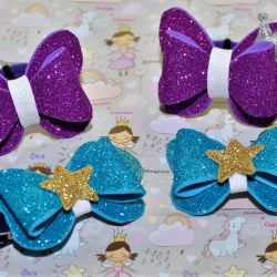 Butterfly bows.