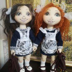 Κούκλα κλωστοϋφαντουργίας - μαθήτρια