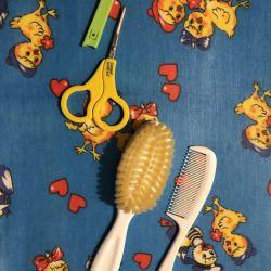 Scissors for newborns