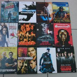 2 DVDs 12 pcs.