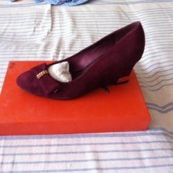 Shoes, 39R nat. Zamsha, NOT B \ Y