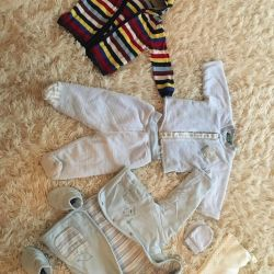 Things package for 3-9 months