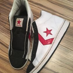 Converse sneakers in genuine leather. Original