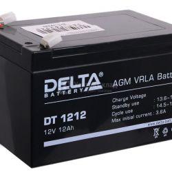 Baterie de tracțiune Delta DT 1212 12V 12 Ah