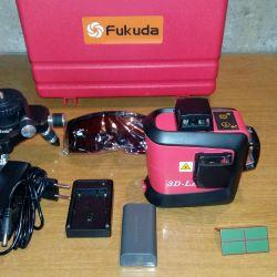 Επίπεδο λέιζερ επίπεδο Fukuda 3D - 12 γραμμές