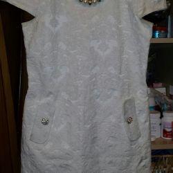 Beyaz elbise 42-44