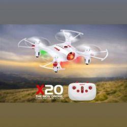 Quadcopter Syma X20, νέα
