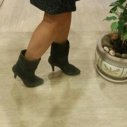 Çizme doğal süet