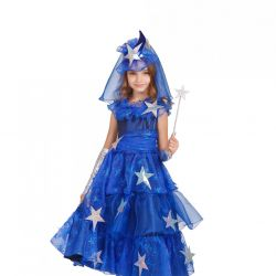 Children's carnival costume Fairy star