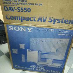 Sony compact av system DAV-s550