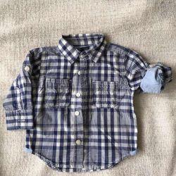 Gap πουκάμισο για ένα αγόρι 12 μηνών