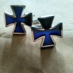 Запонки Кельский крест