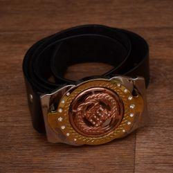 Women's belt (plaque spinning like a spiner)
