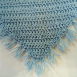 Kerchief acrylic + wool, new