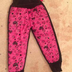 Pantaloni de iarnă pentru fete