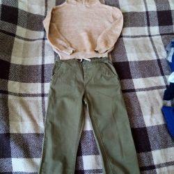 Κοστούμι καλοκαίρι (παντελόνι, φούτερ)