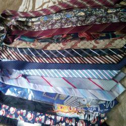 Ties 100% silk, handmade