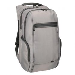 KINGSoNS backpack - 17 inches with USB port Gray