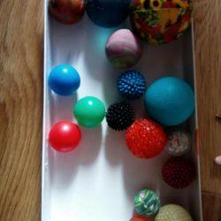 Balls small