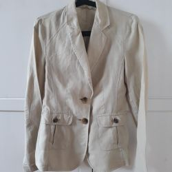 Linen jacket BENETTON