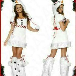 Costum de Snowman. R. 42novy