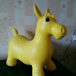 At atlamacı