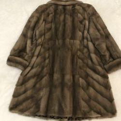 Mink coat og 140cm