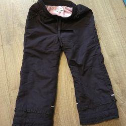 Kızlar için pantolon