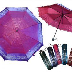 Мини зонт механический женский Хамелеон