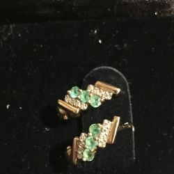 Diamonds, emeralds ONLY TODAY for 15,000