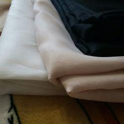 Орган Kumaş organze beyaz terzi giyim iç