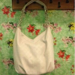 Женская белая сумка искуствен кожа новая