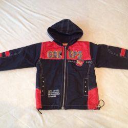 Демисезонная куртка на мальчика рост 110 (5-6 лет)