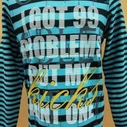 Новый мужской тонкий свитер