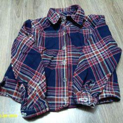 warm shirt (wool fabric)