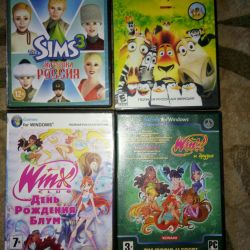 Sims3, Madagascar, Winx